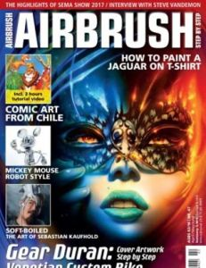 Airbrush Step by Step – April/May/June 2018