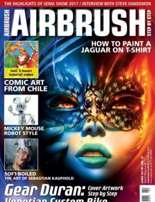 Download Airbrush Step by Step - AprilMayJune 2018