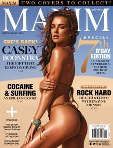 Maxim Australia – August 2018