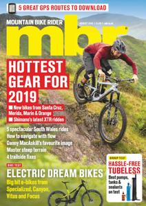 Mountain Bike Rider - August 2018
