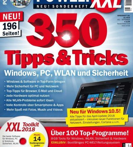 PC-Welt Sonderheft XXL - Juli-September 2018
