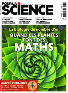 Pour la Science - août 2018