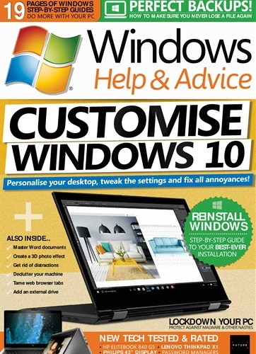 Windows Help & Advice - August 2018
