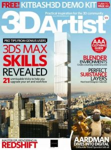 3D Artist – October 2018
