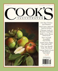 Cook's Illustrated – September 01, 2018