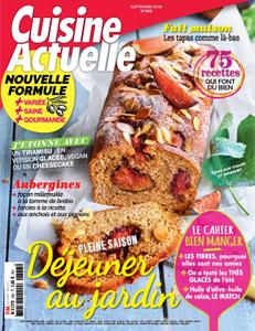 Cuisine Actuelle - août 2018