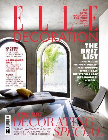 Elle Decoration UK - October 2018