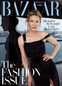 Harper's Bazaar Australia - September 2018