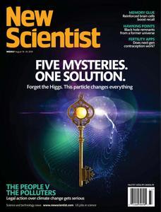 New Scientist – August 18, 2018