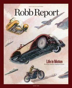Robb Report USA - August 2018