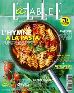 Elle à Table – septembre 2018