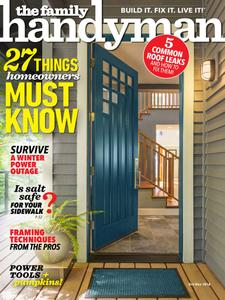 Family Handyman - October 2018