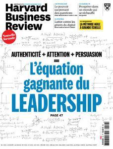Harvard Business Review France - Octobre-Novembre 2018