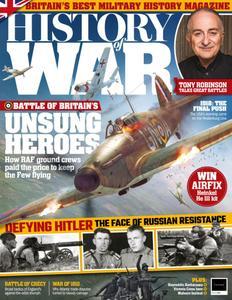 History of War – October 2018