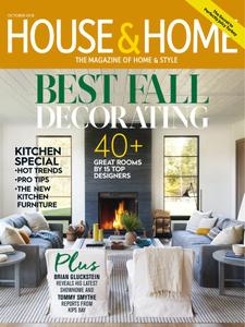 House & Home - October 2018