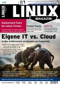 Linux-Magazin – Oktober 2018