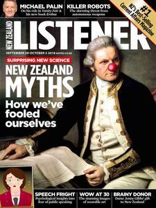 New Zealand Listener - September 29 2018
