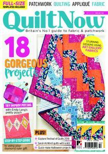 Quilt Now – September 2018