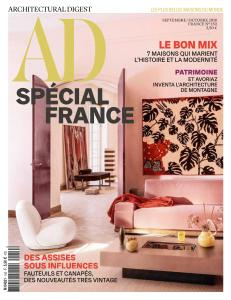 AD Architectural Digest France - Septembre-Octobre 2018