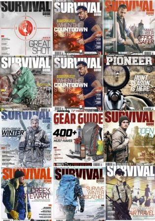 American Survival Guide - Full Year Issues collection 2018