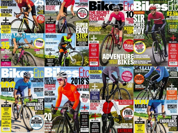Bikes Etc - Full Year Issues Collection 2018
