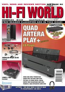 Hi-Fi World – December 2018