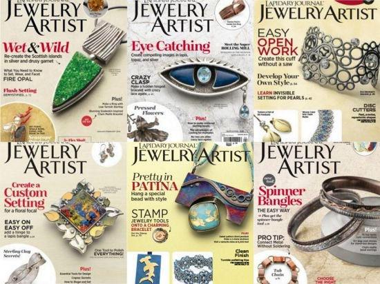 Lapidary Journal Jewelry Artist - Full Year Issues collection 2018