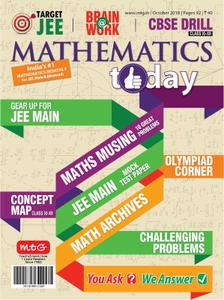 Mathematics Today - October 2018