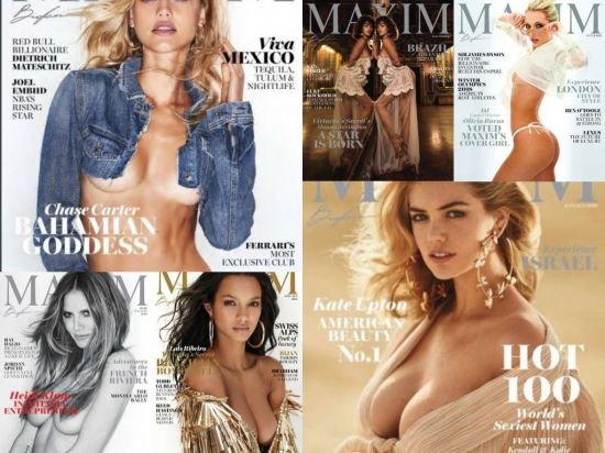 Maxim USA - Full Year Issues Collection 2018
