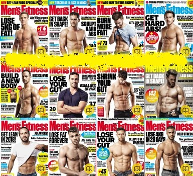 Mens Fitness UK - 2018 Full Year Issues Collection