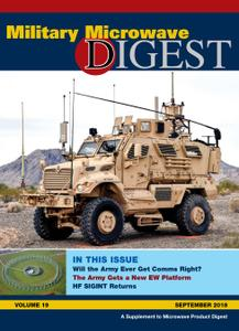 Military Microwave Digest – September 2018