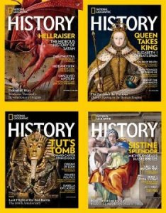 National Geographic History – 2018 Full Year Issues Collection
