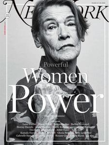 New York Magazine – October 15, 2018