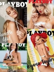 Playboy USA – Full Year Issues Collection 2018