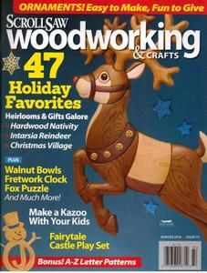 ScrollSaw Woodworking & Crafts – Winter 2018
