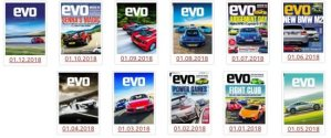 evo UK – Full Year 2018 Issues Collection