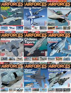 AirForces Monthly - Full Year 2018 Collection