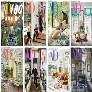 Architectural Digest USA - Full Year 2018 Collection