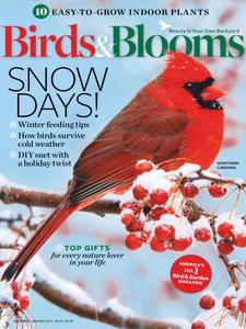 Birds & Blooms - December-January 2018