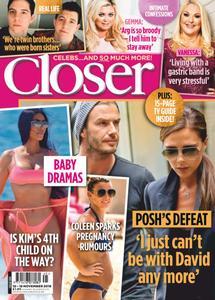 Closer UK – 14 November 2018