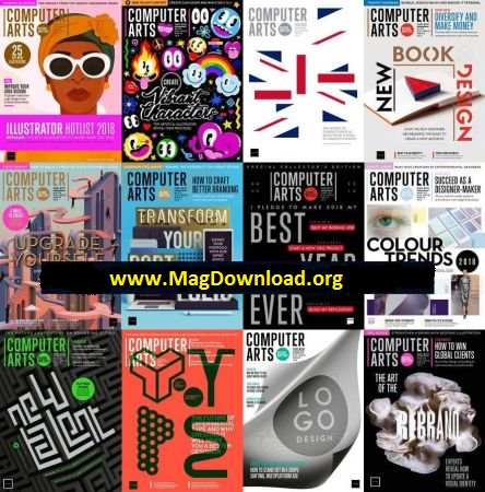 Computer Arts - 2018 Full Year Issues Collection