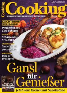 Cooking Austria – 9 November 2018