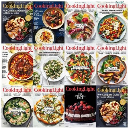 Cooking Light - Full Year Issues Collection 2018