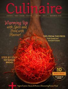 Culinaire Magazine – November 2018