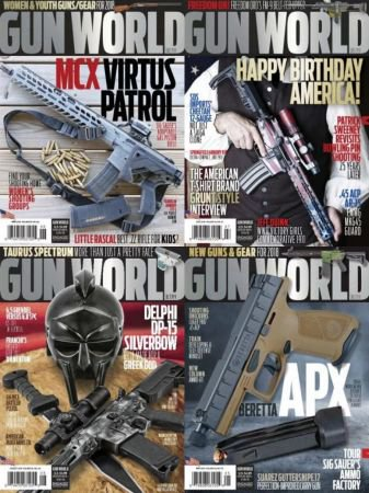 Gun World - Full Year Issues Collection 2018