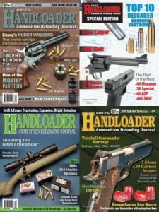 Handloader – Full Year Issues Collection 2018