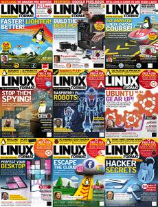 Linux Format UK - Full Year 2018 Collection