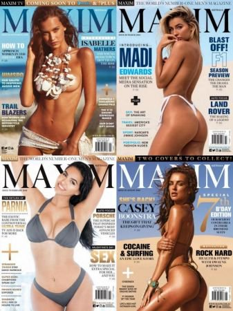 Maxim Australia - Full Year 2018 Collection