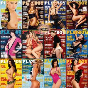 Playboy Slovenia – Full Year 2010 Issues Collection