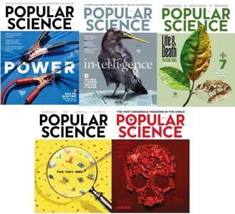Popular Science USA - Full Year 2018 Collection